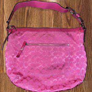 Coach Hot Pink Hobo Bag